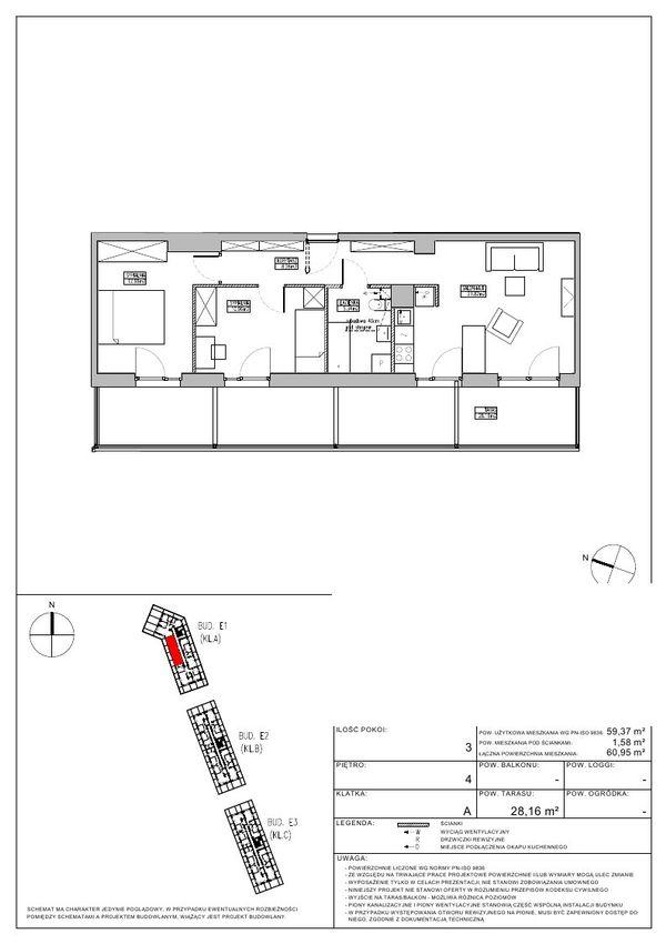 Rzut Robyg Jagodno (Na Jagodnie) - RJ3/A/4/3