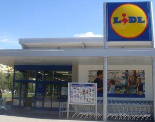 """[Wrocław] Supermarket """"Lidl"""", ul. Bystrzycka/Balonowa 7178"""