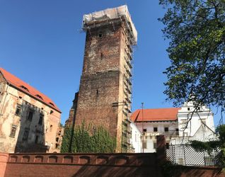 Zamek w Prochowicach (remont) 491365
