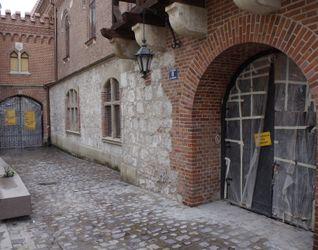 [Kraków] Remont Muru Obronnego, Barbakanu, ul. Pijarska 8 437606