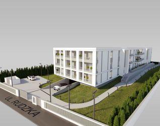 """[Łódź] Budynek wielorodzinny """"Apartamenty Plażowa"""" 440170"""