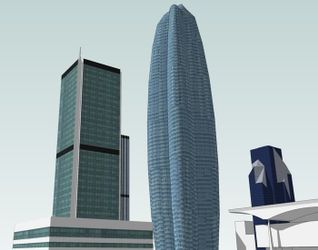 "[Warszawa] Apartamentowiec ""Lilium Tower"" 30828"