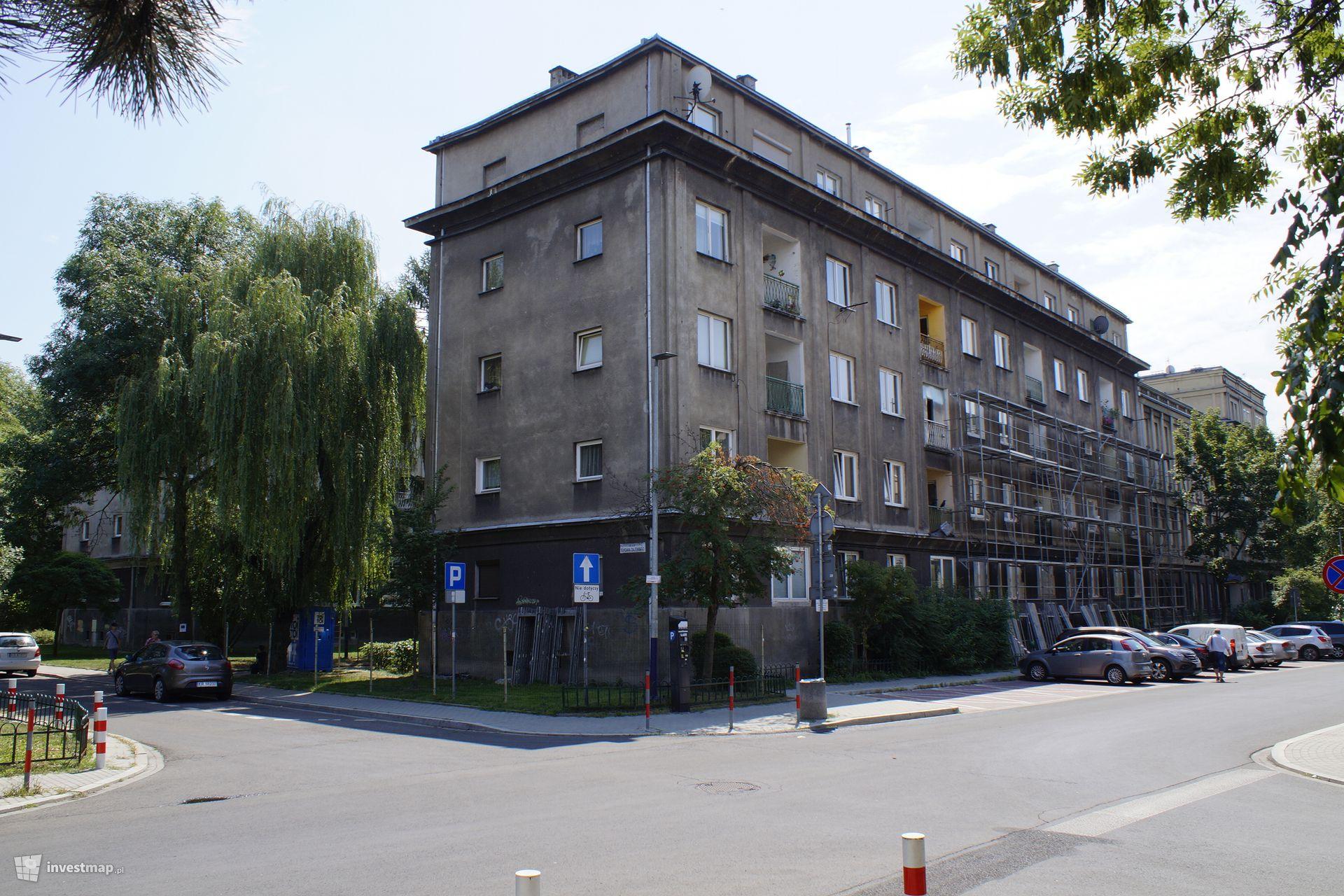 Remont elewacji, ul. Grunwaldzka 29