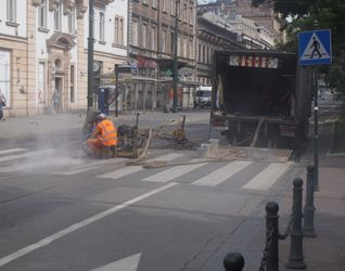 [Kraków] Przebudowa skrzyżowania pod Teatrem Bagatela 438382