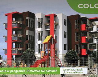 """[Wrocław] Budynek wielorodzinny """"Colore"""" 48244"""