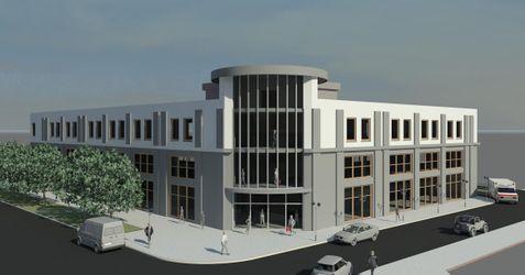 [Lublin] Budynek usługowo-handlowy, ul. Zamojska/Rusałka 33914