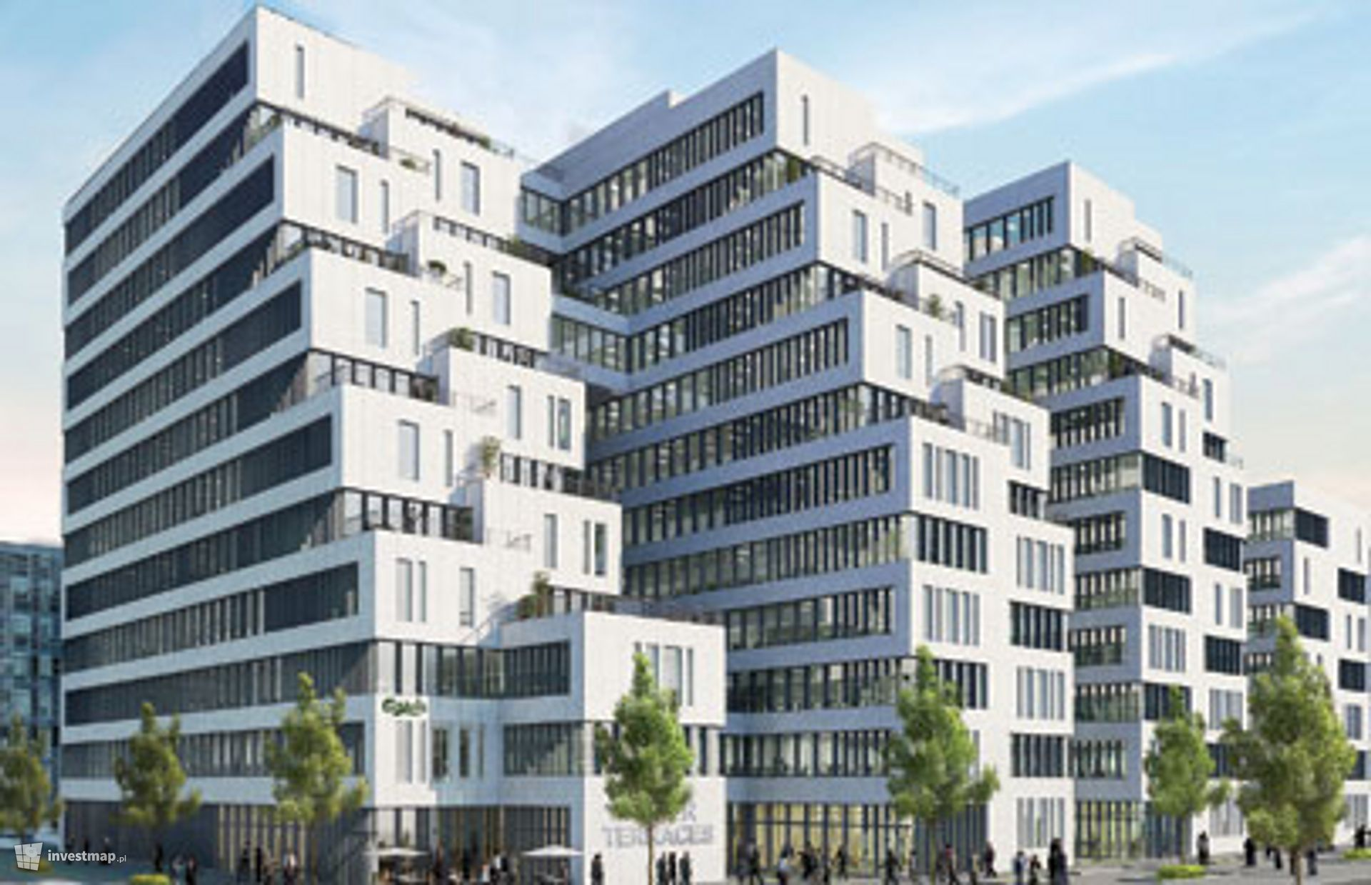 Biurowce Tower Terraces