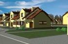 [Paniówki] Osiedle domów jednorodzinnych, ul. Powstańców