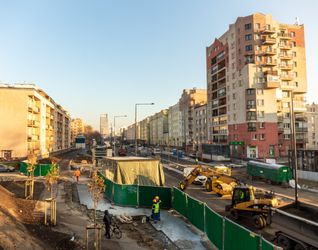 [Warszawa] Budowa Stacji Metra linii M2 C7 - Młynów 456316