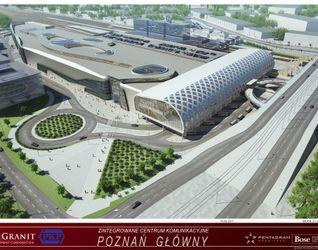 """[Poznań] Dworzec """"Poznań Główny"""" i galeria """"Poznań City Center"""" 13441"""