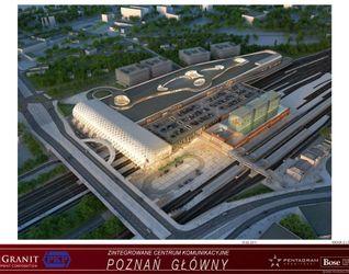 """[Poznań] Dworzec """"Poznań Główny"""" i galeria """"Poznań City Center"""" 13442"""