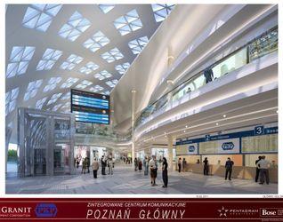 """[Poznań] Dworzec """"Poznań Główny"""" i galeria """"Poznań City Center"""" 13446"""