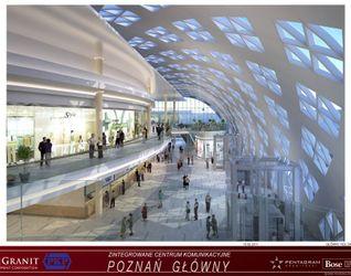 """[Poznań] Dworzec """"Poznań Główny"""" i galeria """"Poznań City Center"""" 13447"""