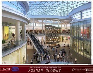 """[Poznań] Dworzec """"Poznań Główny"""" i galeria """"Poznań City Center"""" 13449"""