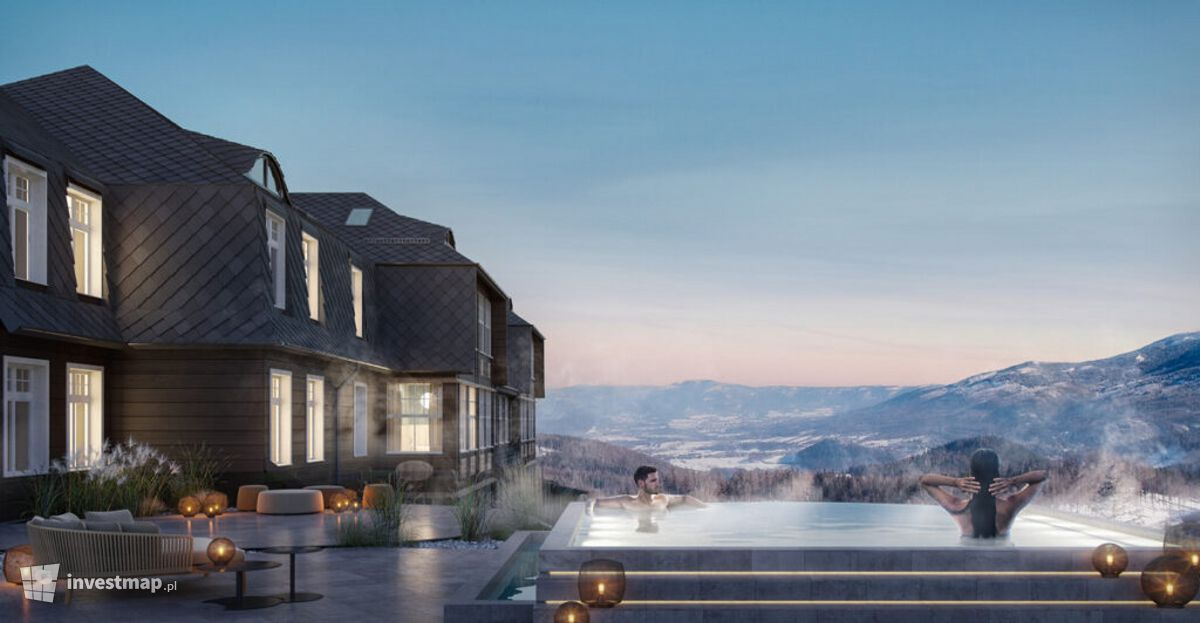 Wizualizacja Hotel Sanssouci (rozbudowa i przebudowa) dodał Orzech