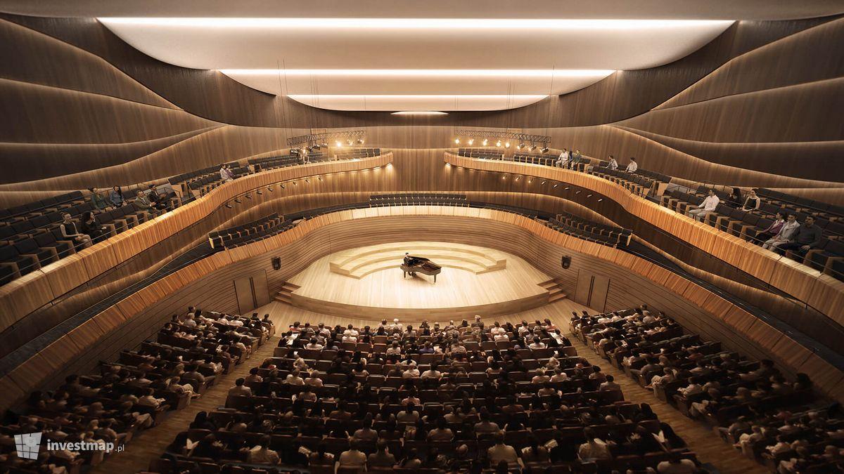 Wizualizacja Cavatina Hall dodał Damian Daraż