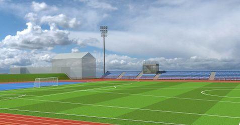 [Tarnów] Stadion Lekkoatletyczny, KS Błękitni (przebudowa) 271886