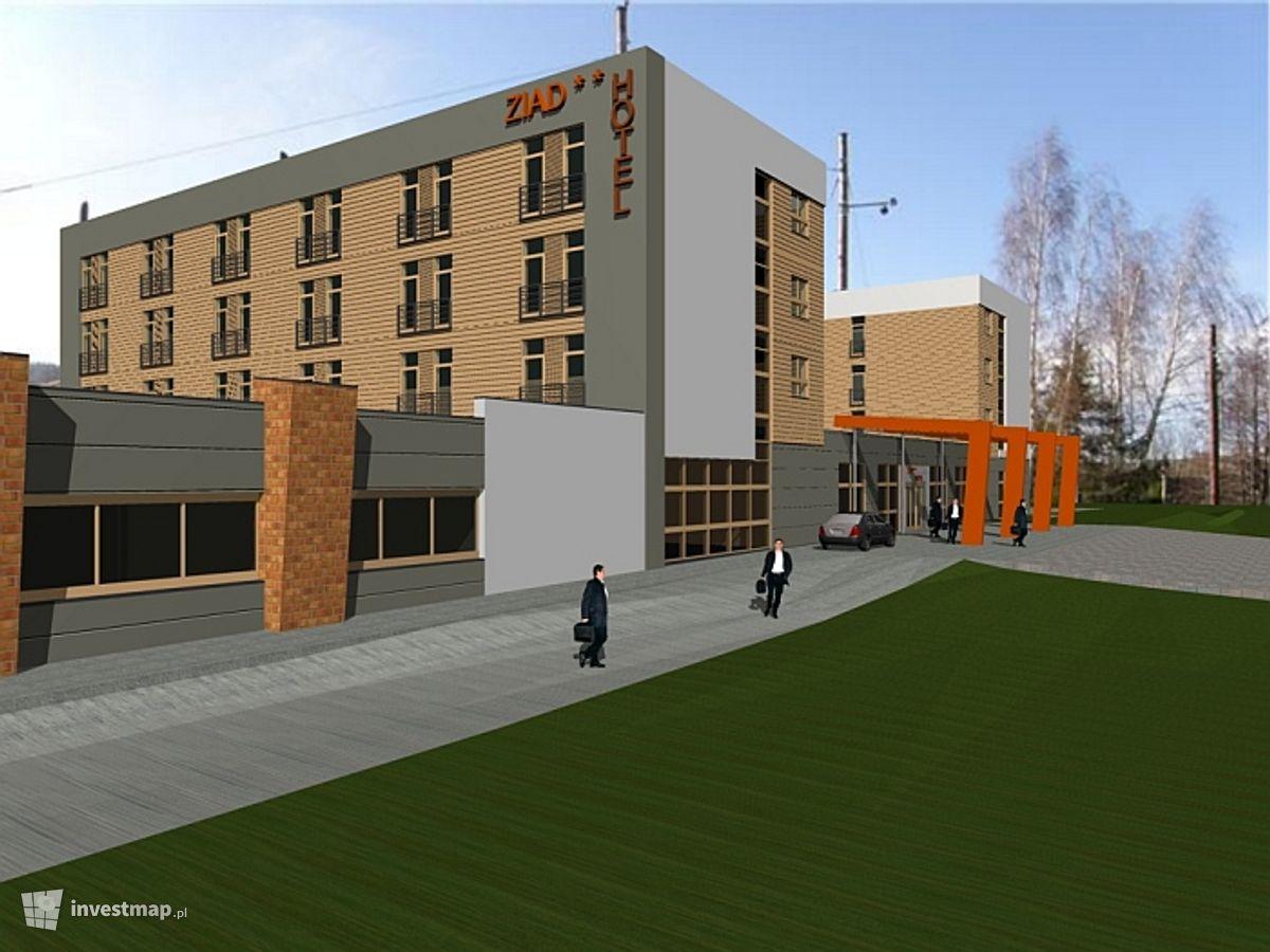 Wizualizacja Hotel ZIAD dodał Lukander