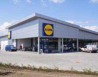 """[Wrocław] Supermarket """"Lidl"""", ul. Królewiecka 41486"""