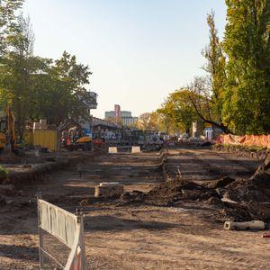 Trasa autobusowo-tramwajowa na Nowy Dwór 449166