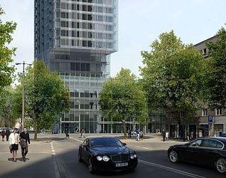 """[Warszawa] Wieżowiec """"Cosmopolitan Twarda 2/4"""" (Twarda Tower) 5262"""