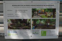 [Kraków] Park Krakowski (przebudowa)