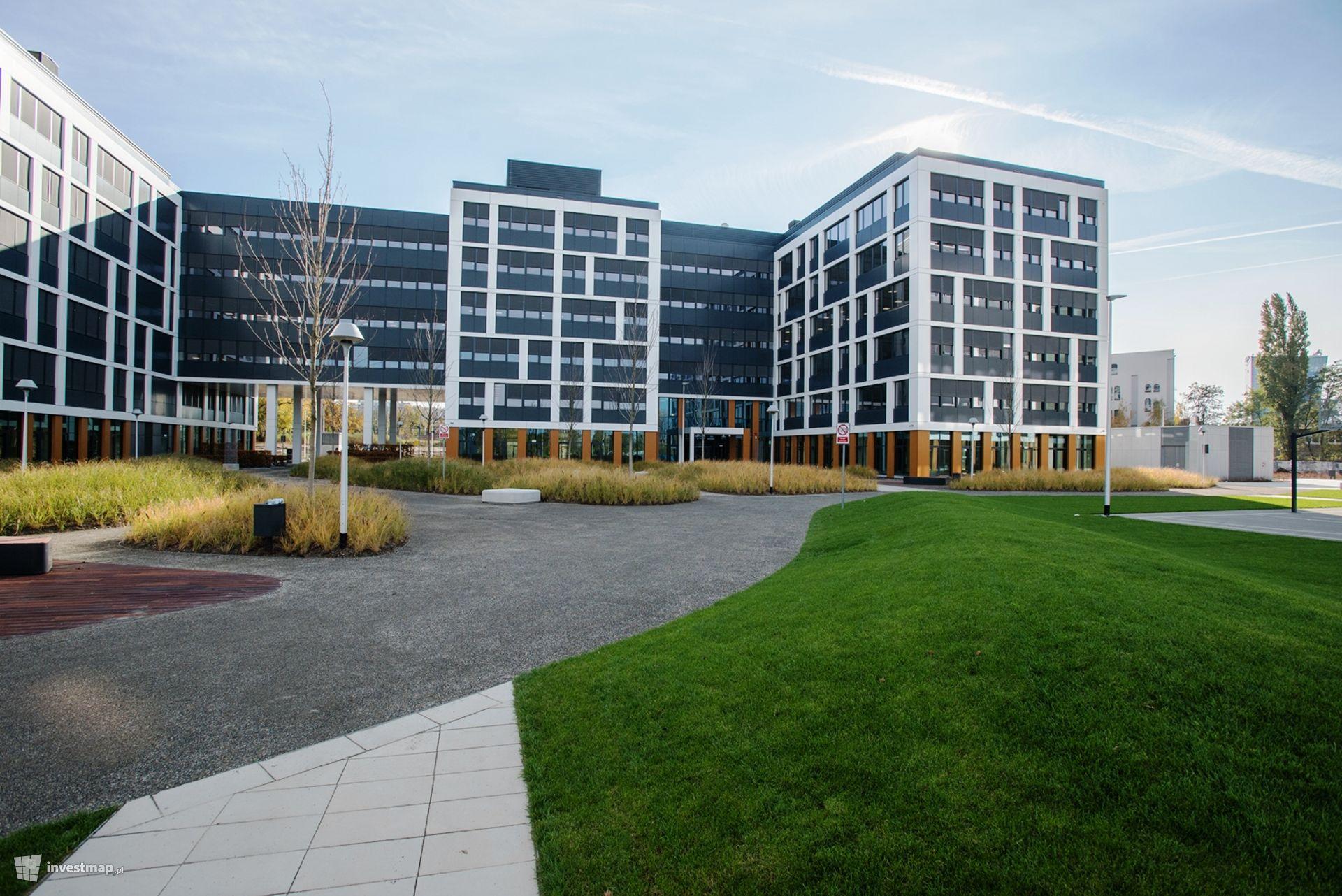 Kompleks biurowy Wrocław Business Garden