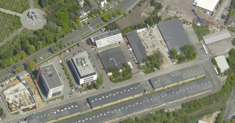 Zespół budynków usługowo-biurowych, ul. Wyścigowa 383636
