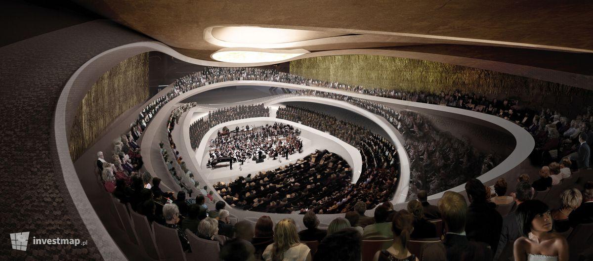 Wizualizacja Sala koncertowa Sinfonia Varsovia Centrum dodał Kajtman