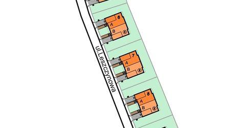 [Katowice] Osiedle domów jednorodzinnych, ul. Leszczynowa 31503