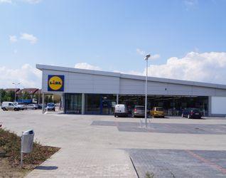 """[Wrocław] Supermarket """"Lidl"""", ul. Królewiecka 41487"""