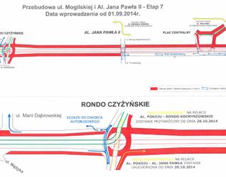 [Kraków] Przebudowa trasy Rondo Mogilskie - Pl. Centralny 122006