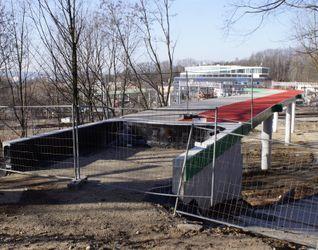 [Kraków] Kładka pieszo-rowerowa, ul. Kamieńskiego 464791