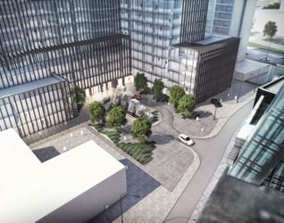 "[Warszawa] Kompleks biurowy ""PHN Tower"" 180122"