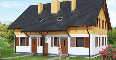 """[Nadolice Wielkie] Osiedle domów szeregowych """"Brzozowe Nadolice"""" 359324"""