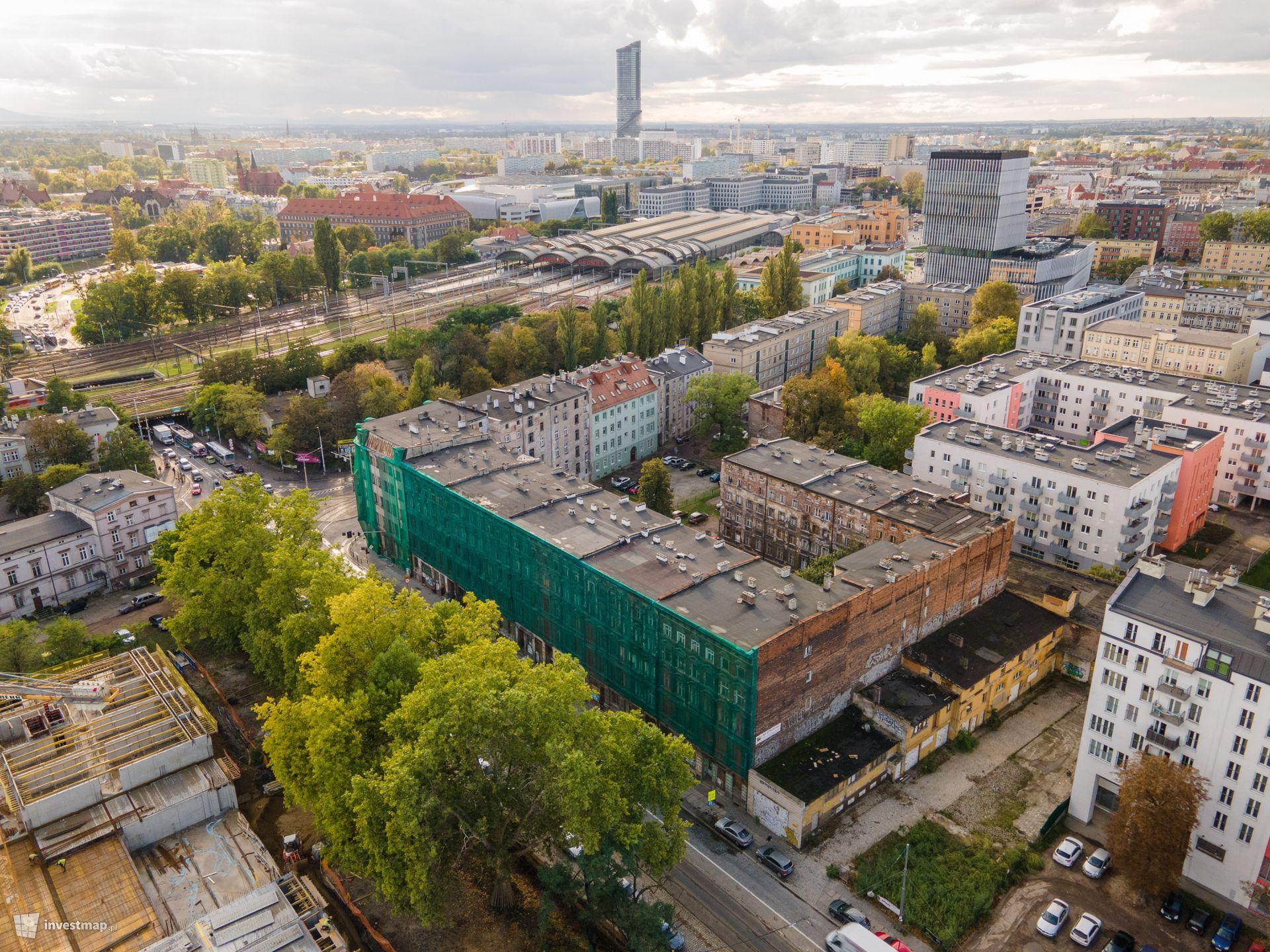 Kompleks kamienic, ul. Pułaskiego/Małachowskiego