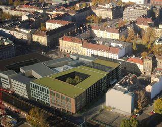 """[Wrocław] Kompleks hotelowo-handlowo-apartamentowy """"Centrum Metropol"""" 9889"""
