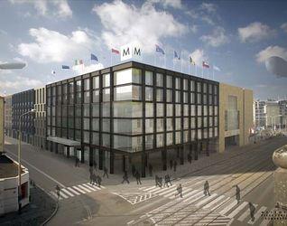 """[Wrocław] Kompleks hotelowo-handlowo-apartamentowy """"Centrum Metropol"""" 9892"""