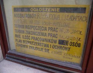 [Kraków] Rozbudowa, Nadbudowa, Przebudowa, Budowa Hotelu. Ul. Floriańska 28 / Św. Marka 18 119974