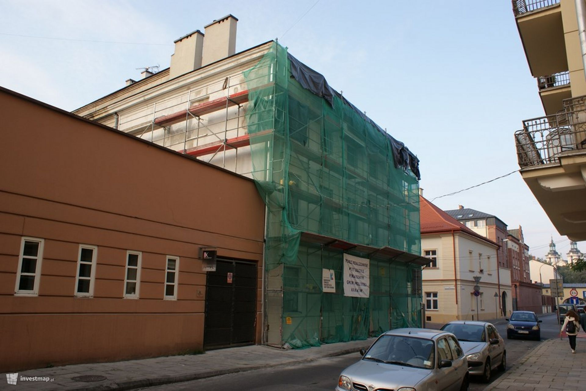 Remont, ul. Augustiańska 22