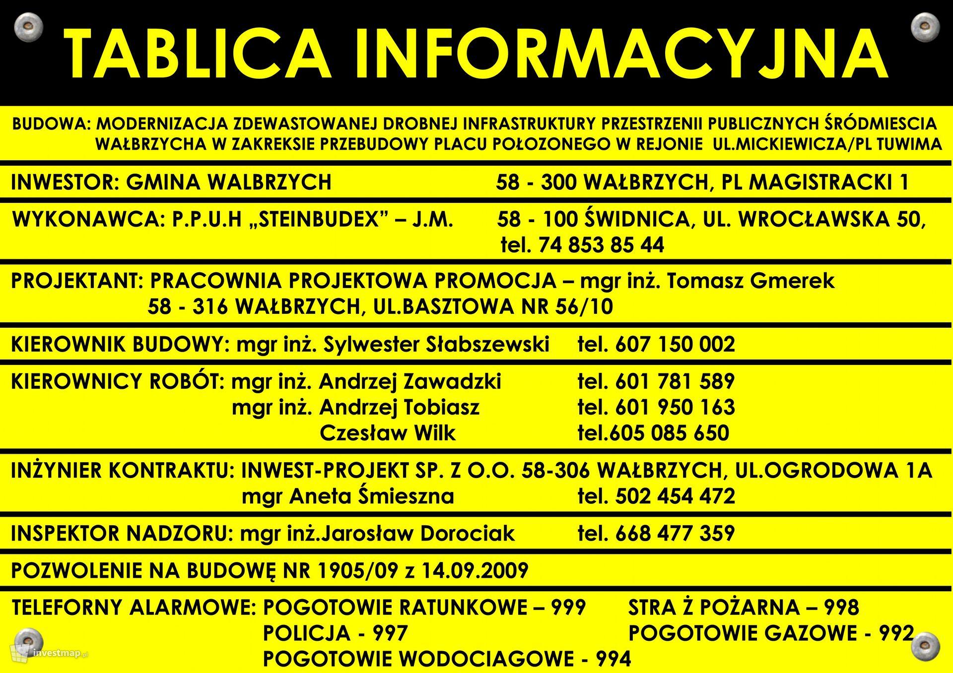 Rewitalizacja centrum Wałbrzycha