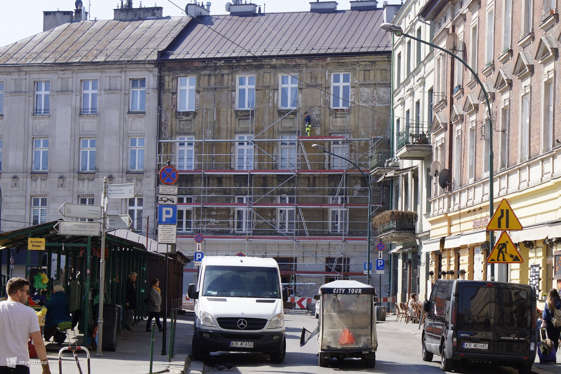 Remont Kamienicy, Plac Nowy 7
