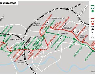 [Kraków] METRO - miejski bezkolizyjny transport szynowy w Krakowie 212395