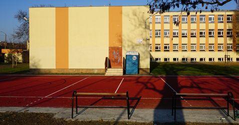 Boisko ze sztuczną nawierzchnią wraz z boiskiem do koszykówki 474285