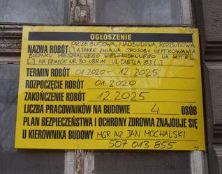 [Kraków] Hotel, ul. Dietla 83 512432