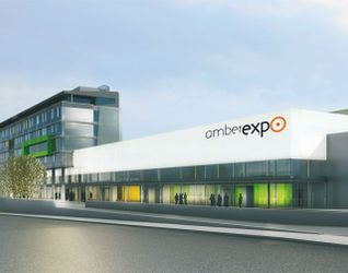 """[Gdańsk] Centrum wystawienniczo-kongresowe """"Amber Expo"""" 17074"""