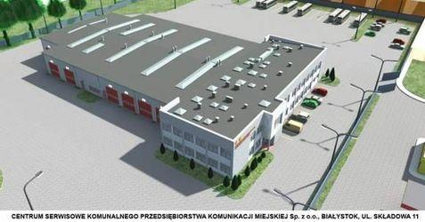 [Białystok] Centrum serwisowe pojazdów 44213