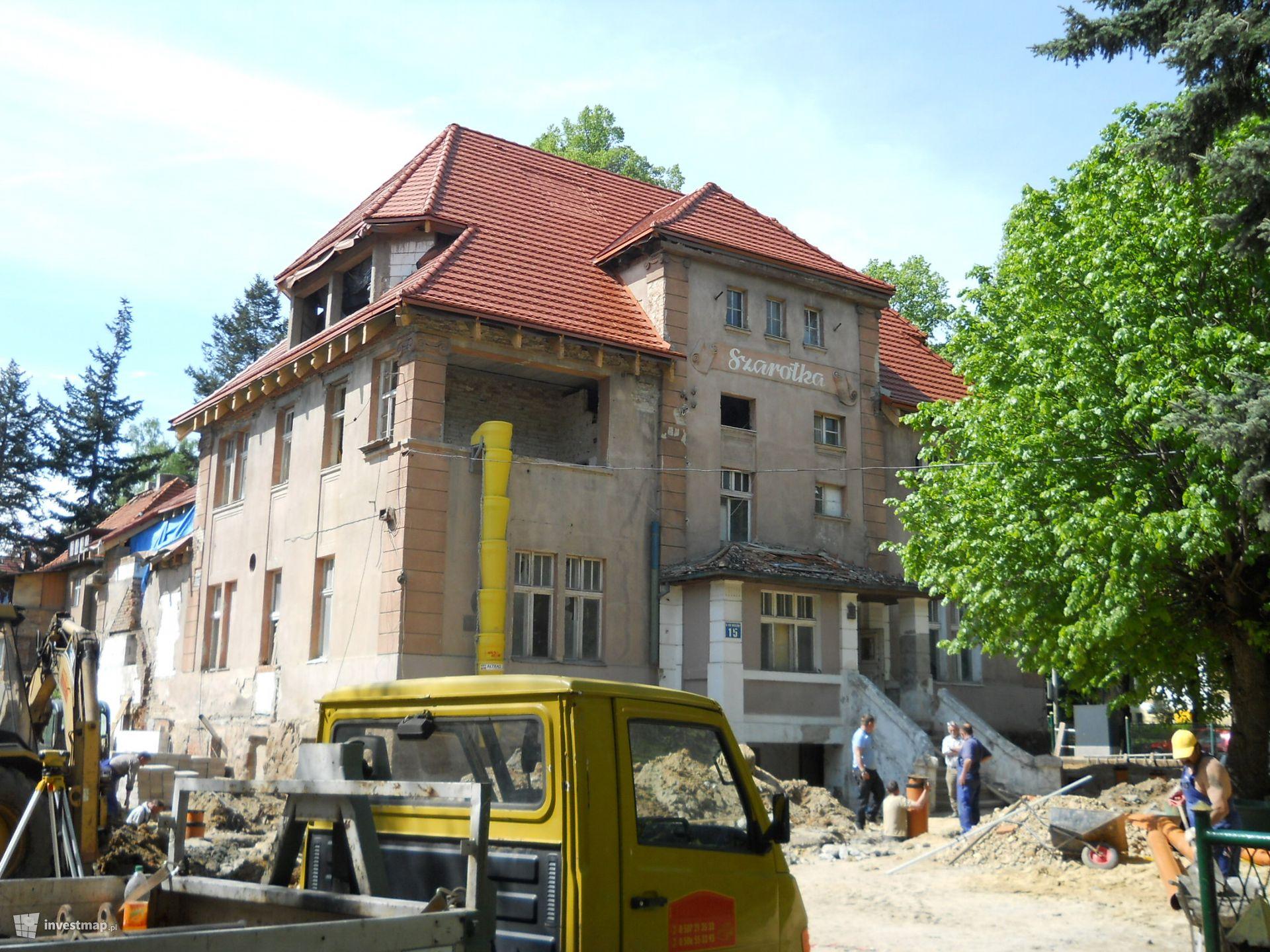 Przebudowa i rozbudowa byłego internatu na pensjonat z restauracją