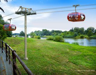 [Wrocław] Kolejka linowa przez Odrę 22457