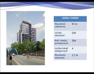 """[Wrocław] Zespół apartamentowo-usługowy """"Odra Tower"""" 11283"""